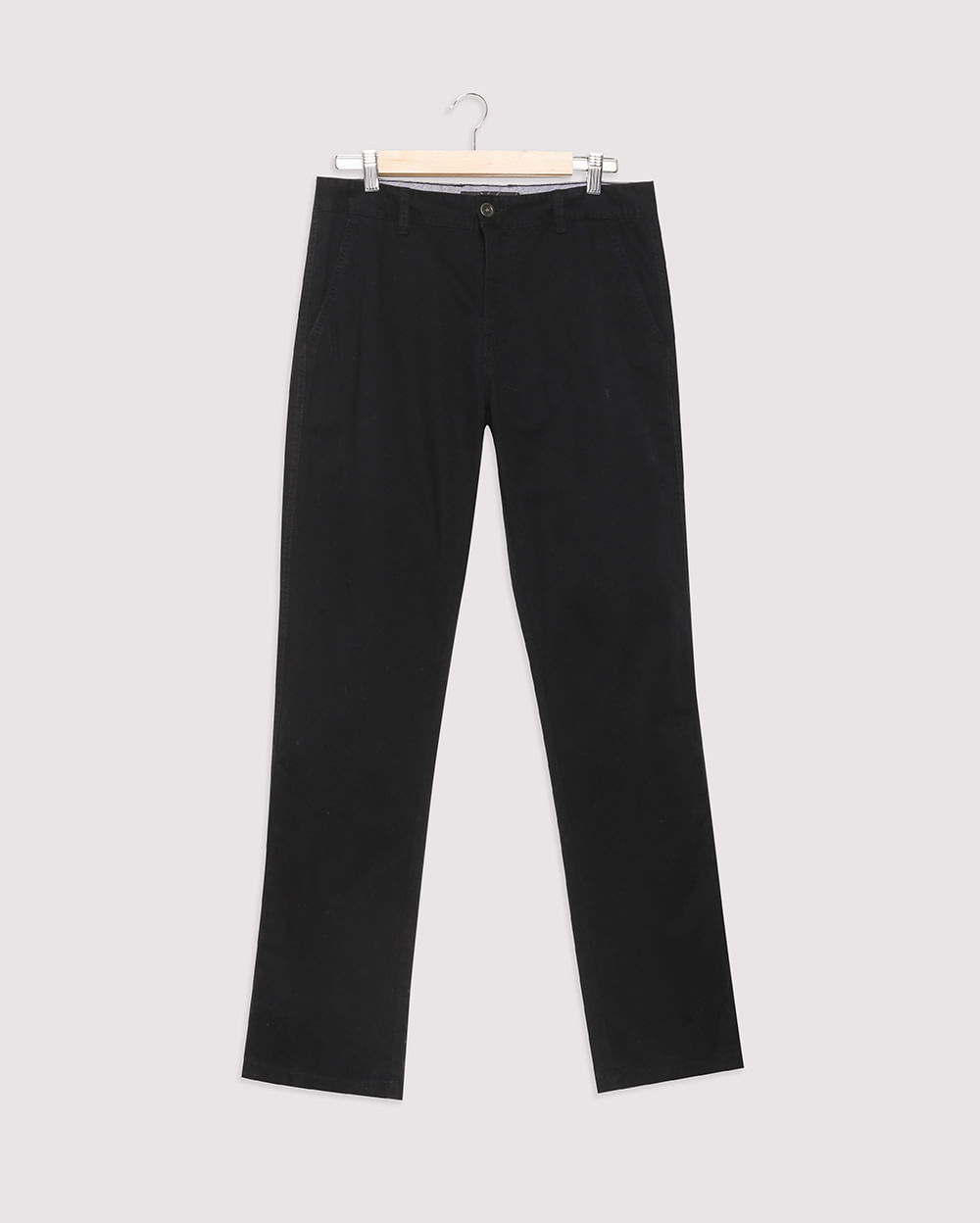 Pantalon Manu Drill Hombre Negro Talla 38 Topitop Hombre Topitop