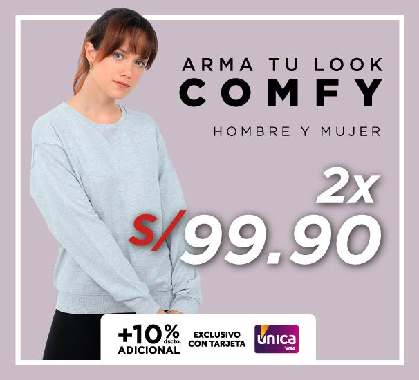 Arma tu look Comfy 2 X S/99.90